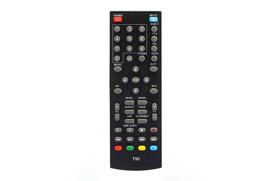 Пульт для ресивера World Vision T56, T36, TESLER DSR-590I T59/ T59D/ T126/ SELENGA T50 ic DVB-T2