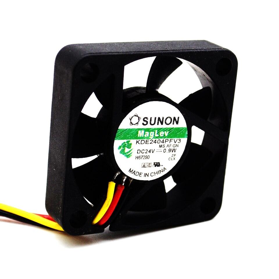 Вентилятор 40*40*10мм 24В 0,09А (скольж., 6000об/мин)