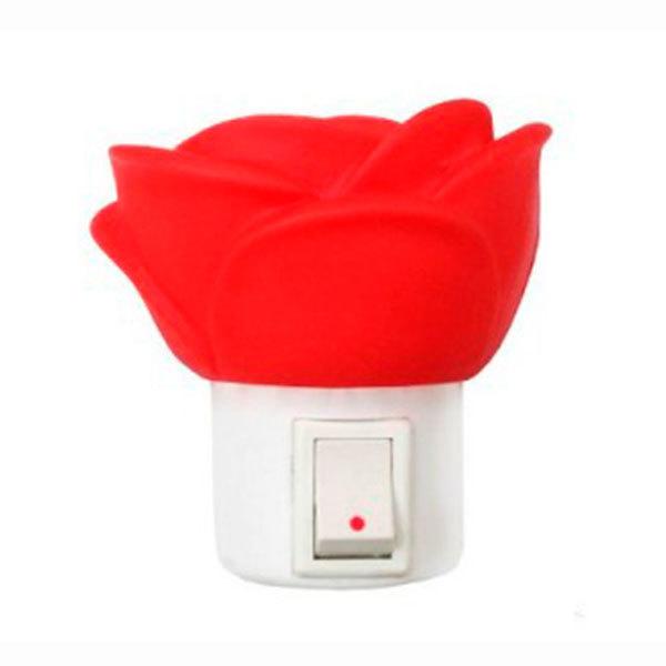 Ночник Camelion NL-172 Роза (LED с выключ. 220V 0,4W)