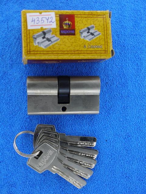 Сердечник для замка 60мм 'Корона' 5ключей