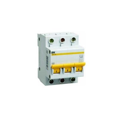 Автоматический выключатель 3Р 16А ВА47-63 4,5кА х-ка С TDM