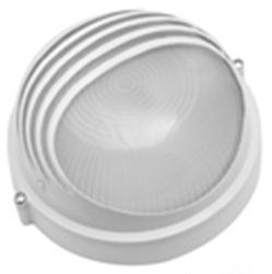 Светильник Navigator NBL-R3-100-E27/WH, круглый, белый, реснички