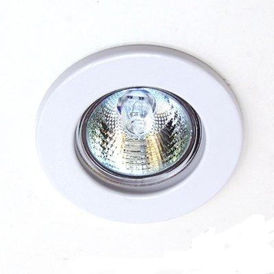 Светильник встраиваемый Feron DL10/DL3201 MR-16 белый неповоротный