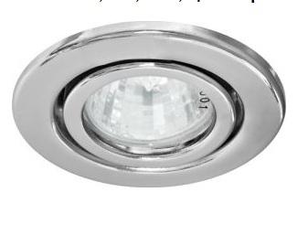 Светильник встраиваемый Feron DL8/(DL3102) MR-11 хром поворотный