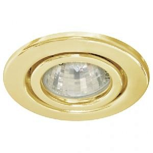 Светильник встраиваемый Feron DL8/(DL3102) MR-11 золото поворотный