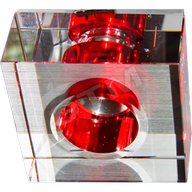 Светильник встраиваемый Feron JD171 G4 20W красный