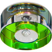 Светильник встраиваемый Feron JD171R G4 20W мультиколор