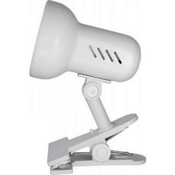 Светильник прищепка Camelion KD-304 белый без лампы 230V 40W