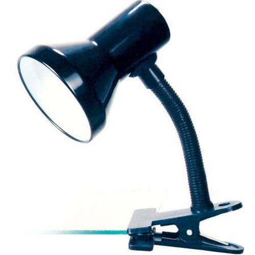 Светильник прищепка Camelion KD-319 черный 230V 60W