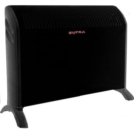 Конвектор электр. SUPRA ECS-101 N, черный, 2000Вт