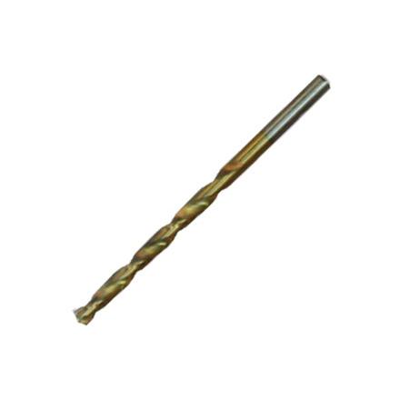 Сверло по металлу 4,5мм HSS нитридтитановое покрытие цилиндр. хвостовик/MATRIX 1шт