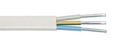 Провод сетевой установочный АПБПП =АПУНП 3*6мм