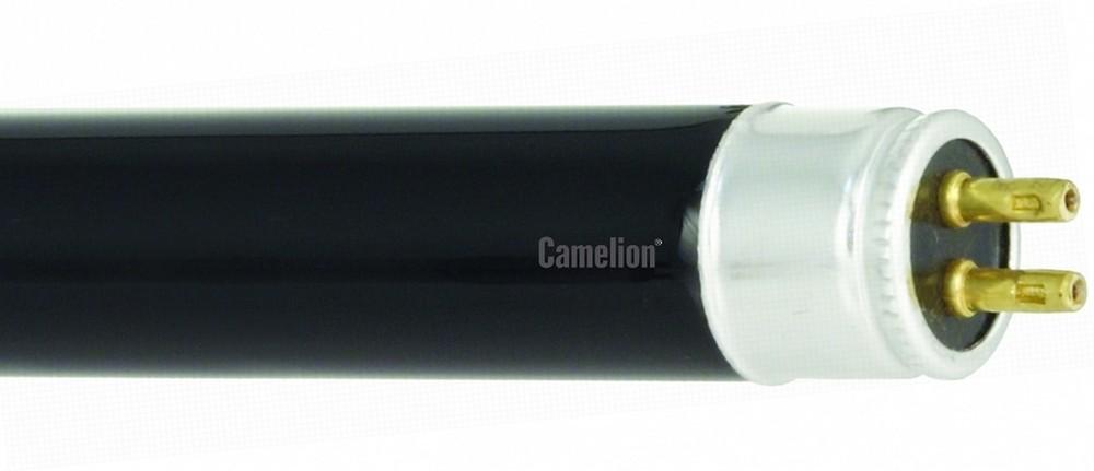 Лампа люминесцентная Т5 ультрафиолетовая Camelion FT5-6W Blacklight Blue 226.3mm