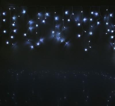 Гирлянда УЛИЧНАЯ 'Бахрома' Ш:3м В:0,6м нить белая, LED-160-220V, БЕЛЫЙ