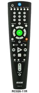Пульт BBK RC 026-11R DVD =RM-D711 =RM-D1177+