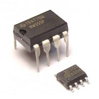 Микросхема имп. NE555=LM555=HA17555 DIP8