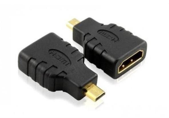 Переходник шт.microHDM I- гн.HDMI gold