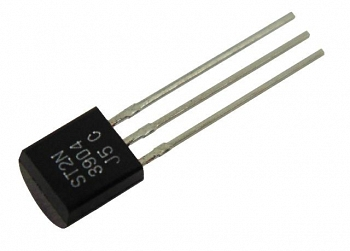 Транзистор имп. 2N3904 TO92 1шт (пара 2N3906)
