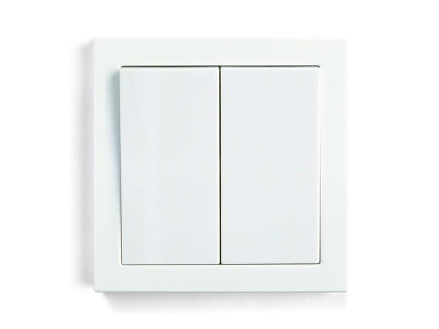 Выключатель 2-кл о/у С9(С2)В2-001) белый