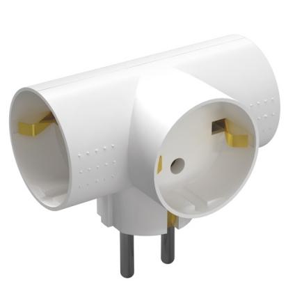 Разветвитель электр. 3гн з/к Фотон АМ16-3ТЕ 16А