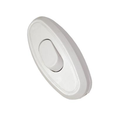 Выключатель для бра Универсал белый 6А 250В (А106)
