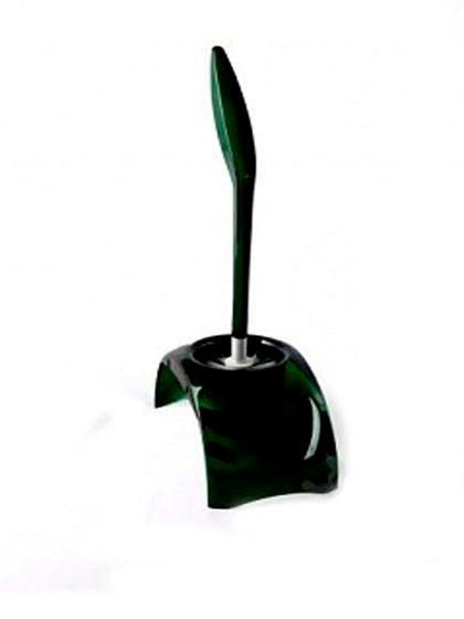Ерш для унитаза 14711 полупрозр. зеленый