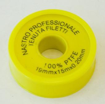 Лента ФУМ желтая Professionale 19*0,2мм*15м 1шт