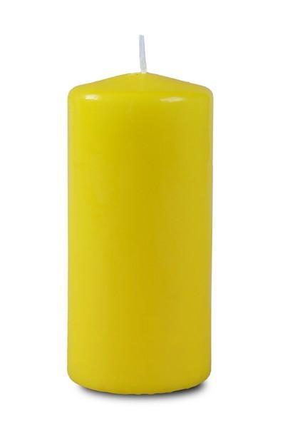 Свеча пеньковая 60*125 желтая