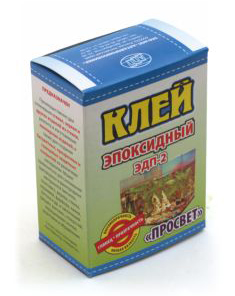 Клей ЭДП-2 эпоксидный Просвет 50г г.Бийск