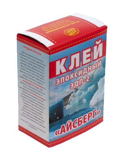 Клей ЭДП-2 эпоксидный Айсберг 60г г.Бийск