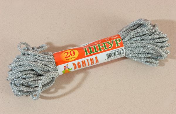 Шнур бельевой 3мм*20м цветной DOMINA