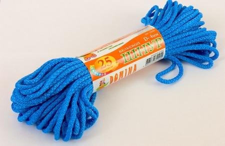 Шнур бельевой 4мм*25м цветной DOMINA